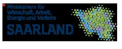 Logo Ministerium für Wirtschaft, Arbeit, Energie und Verkehr des Saarlandes